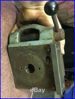 HARDINGE MODEL A QUICK INDEX 4 WAY Turret Metal Lathe Tool Post Machinist Find
