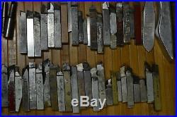 HUGE LOT CNC LATHE TOOLS BORING BARS HOLDERS INSERTS MACHINIST Carbide Thinbit