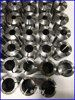 Hardinge 5c 63pc Collet lot Lathe Chuck Set Tool Holder 1/16-1&1/8 machinist