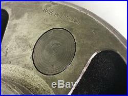 Hardinge 6.5 MACHINIST TOOL 4-Jaw Lathe Chuck Mdl. 6-4D Threaded 2.175-10 TPI