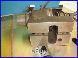 Hardinge Indexer Hv-4n 5c Collet Taper Nose Milling Fixture Machinist Tools