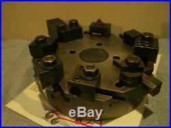 Hardinge Lathe Chucker Turret Top Plate 8 Station WithHolders machinist tools
