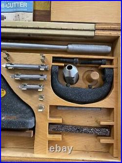 Holdridge 4-S Radii 3D Radius Cutter Tool Set Lathe Radii Concave Machinist
