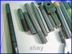 Huge Assorted Lot Of Machinist Lathe Metal Cutting Turning Tools Inserts-S1