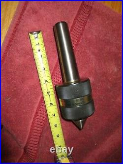 Ideal USA 47-013 MT 4 Live Center Metal Lathe Machinist Tool Multi-Duty New
