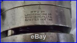 Landis MACHINIST TOOLS LATHE MILL Die Head Tapping Thread 5/8 Geometric Era