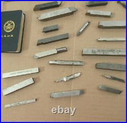 Large Lot Used Lathe Tool BIts Arms Machining Holders Machinist Mill Milling Jig