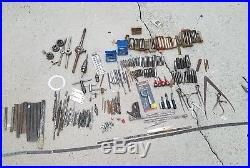 Large Machinist Lot Lathe Mill Milling Tool Drill Bits Taps USA Made Die NOS New
