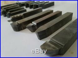 Lathe Turning Tool Holders Toolmaker Machinist Gunsmith Indexable Carbide Bits