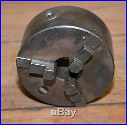 Levin Switzerland Bani #3837 jewelers lathe three jaw chuck precision machinist