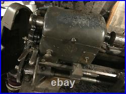 Logan Lathe Machinist Single Phase 1HP 110V with Quick Change Tool Post