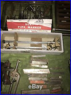 Lot #2 Machinist Tools End Mills, Taps, Bits Lathe, Tooling Misc Vintage Nice