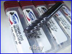 Lot (5 Pcs) Melin Carbide 3/8 Endmills 6 Flute Milling Machinist Lathe Tools