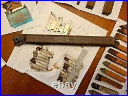 Lot Lathe Cutting Bits Steel Carbide Tool Stock Machinist Multiple Sizes