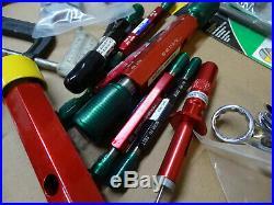 Lot Machinist Tools Nogo Gauges Reamers Drill Bits Taps Chuck Taper Lathe