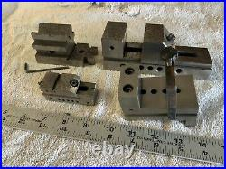 Lot Of Vintage Tool Machinist Milling Drill Press Lathe Vise