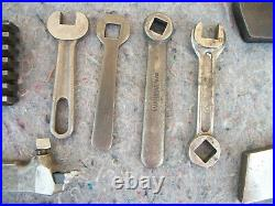 Lot Vintage Machinist Metal Lathe Tools Williams / Armstrong