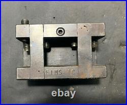Lot of 5 FIMS #4 Tool Holders C, D, E, F, G Thread Knurl Lathe Machinist Used