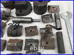 Lot of Wilton Powerlock Tool Holders + Machinist Lathe Parts