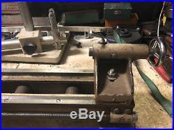 MACHINIST Atlas TOOL LATHE Craftsman 6 Jewelers Lathe with Gears 109.21200