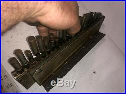 MACHINIST DrP TOOLS LATHE MILL Superior Drill File Advertising Index & Gage Kndy