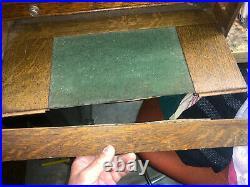 MACHINIST DrP TOOLS LATHE MILL Vintage Oak Gerstner Machinist Tool Box InVst a