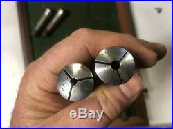 MACHINIST DrQ LATHE MILLMachinist Lot of 8 3C Collets 3 C DrZ