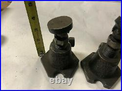 MACHINIST LATHE MILL 2 Armstrong No 2 Screw Jacks Set Up Fixtures ShX GenRc