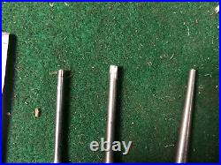 MACHINIST LATHE MILL Machinist 10 Snap On Tools PPC Punches and 2 Chisel DrQa