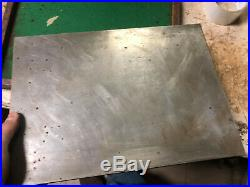 MACHINIST LATHE MILL Machinist CHALLENGE Double Sided Surface Plate in Wood Case