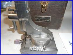 MACHINIST LATHE MILL Machinist J & S Tool Radius Dresser Fixture for Grinding sd