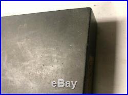 MACHINIST LATHE MILL Machinist Micro Flat Granite Surface Plate 8 X 12 X 2 1/2