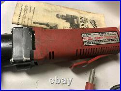 MACHINIST LATHE MILL Machinist Milwaukee Heavy Duty Nibbler Tool 6890 OfCe