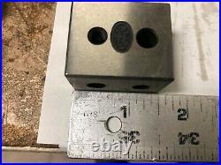 MACHINIST LATHE MILL Machinist Pair of Moore Tools Precision Blocks A DrQa