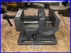MACHINIST LATHE MILL Machinist Palmgren 4 Adjustable Mill Drill Vise OfCe