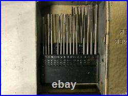 MACHINIST LATHE MILL Machinist Reamer Index Holder with Reamers C OfCe