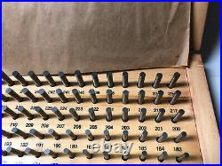 MACHINIST LATHE MILL Machinist Set of Meyer Pin Gages AucStn