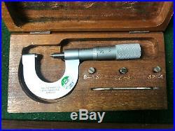 MACHINIST LATHE MILL. Machinist Starrett Thread Point Micrometer Gage OkCb