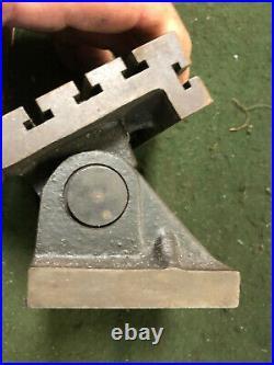 MACHINIST LATHE MILL Micro T Slot Adjustable Angle Set Up Fixture TpKny INvSt