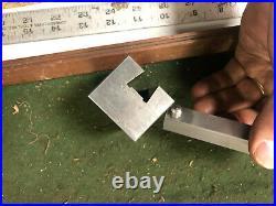 MACHINIST LATHE MILL NICE PRECISION Ground Grinding Dresser Block Fixture DrCc