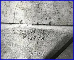 MACHINIST LATHE MILL RARE Rivett Lathe Cross Slide 918s