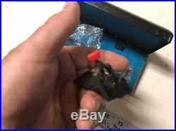 MACHINIST LATHE MILL Set of 2 Micro Watchmaker V Blocks in Case OkCs