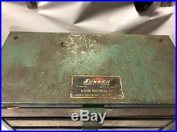 MACHINIST LATHE MILL Sunnen Stone Selection Cabinet with Contents