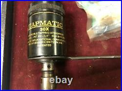 MACHINIST LATHE MILL Tapmatic 30X Tapping Head with R8 Arbor ShX GenRc
