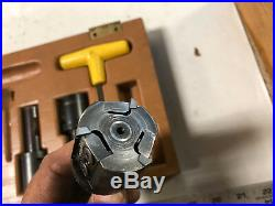 MACHINIST LATHE TOOLS MILL Kennemetal Indexable End Mill Shell Mill Cutters ShB