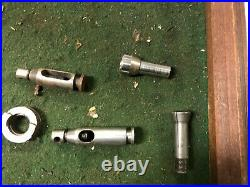 MACHINIST LATHE TOOLS MILL Lot of Misc Jewelers Lathe Parts Collets Etc ShK