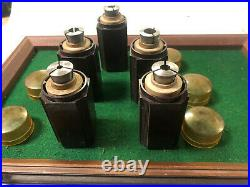 MACHINIST LATHE TOOLS MILL Machinist Lot of South Bend 3 Collets in Holder BkCs