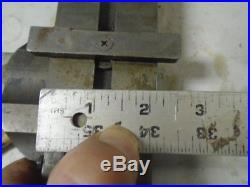 MACHINIST LATHE TOOLS MILL Pultra PTA Jewelers Lathe Lever Compound Cross Slide