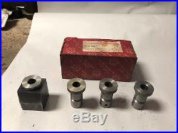 MACHINIST LATHE TOOLS MILL South Bend Cutter Bit Grinding Block Set in Orig Box