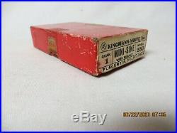 MACHINIST LATHE TOOL MILL Kingman White Model No 250 Mini Sine in Box with Magnet